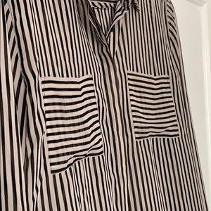 LOFT Tops - Loft sheer collared button down shirt.